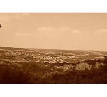 Living in the Country. Photographic Print