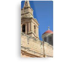 Malta Mellieha Parish Church Metal Print