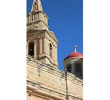 Malta Mellieha Parish Church Photographic Print