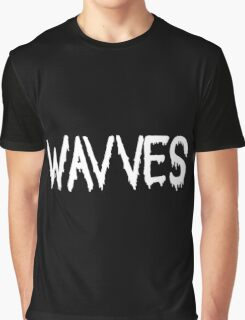Wavves black Graphic T-Shirt