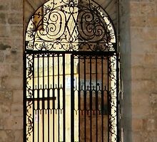 Malta iron Gate Mellieha by Dansam1