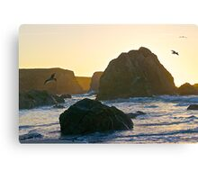 Sunset Point of View Canvas Print