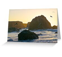 Sunset Point of View Greeting Card