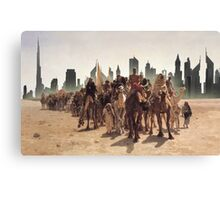 Back to the desert Canvas Print