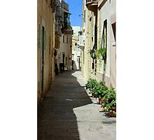 Malta Streetscape Two Photographic Print