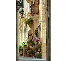 Malta Streetscape Photographic Print