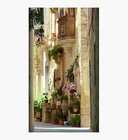 Malta Streetscape Photographic Print