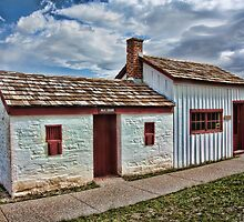 Fort Bridger Milk House 1880 by Brenton Cooper