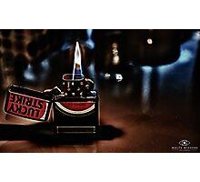 HDR Zippo Photographic Print
