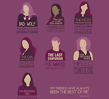 Doctor Who | Companions by CLMdesign