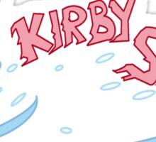 Kirby Sucks Sticker