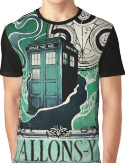 Dr. Who Nouveau Graphic T-Shirt