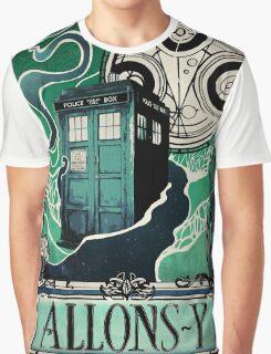 Dr. Who Nouveau Graphic T-Shirt