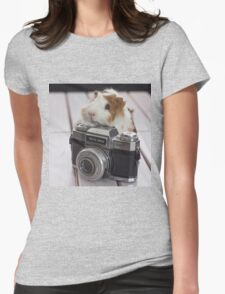 Guinea photographer Womens Fitted T-Shirt