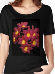 Red and Yellow Orchids Women's Relaxed Fit T-Shirt