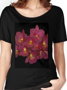 Red Orchids Women's Relaxed Fit T-Shirt
