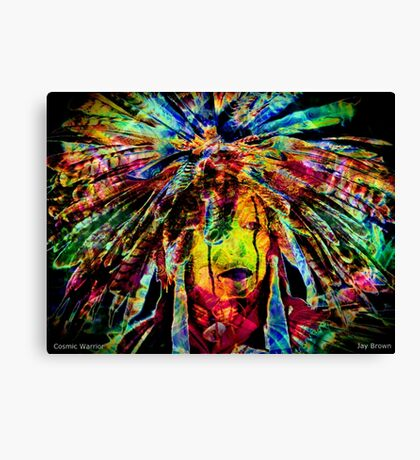 COSMIC WARRIOR Canvas Print