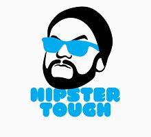 Hipster Tough Mens V-Neck T-Shirt