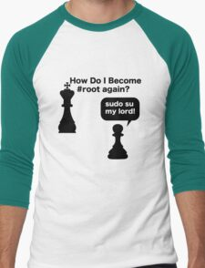 My Lord Men's Baseball ¾ T-Shirt