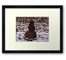 Groundhog Day on the Way Framed Print