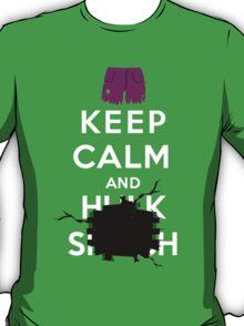 Keep Calm and ... - Hulk Smash T-Shirt