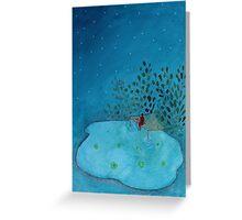 Night Time  Greeting Card