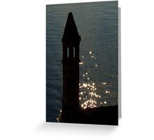 The Stars Fell On The Castle Greeting Card