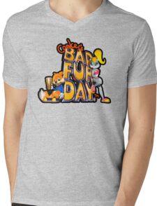 Conker's Bad Fur Day N64 Retro nintendo game fan shirt Mens V-Neck T-Shirt
