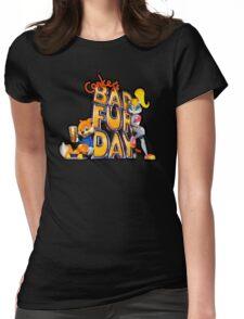 Conker's Bad Fur Day N64 Retro nintendo game fan shirt Womens Fitted T-Shirt