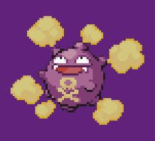 Koffing Pokemon Retro Pixel by cocolima