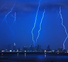 Lightning Over Miami by lattapictures