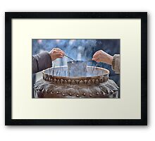 A Thought Of You Framed Print