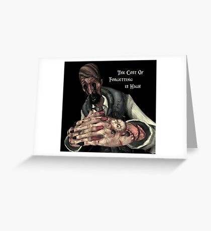 Alice: Madness Returns-Dollmaker Greeting Card