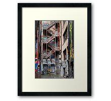 Hosier Lane,  Melbourne 1 Framed Print