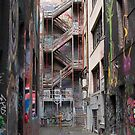 Hosier lane Melbourne 3 by Pauline Tims