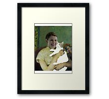 Molly and Toby Framed Print