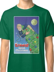 Ernest (Hemingway) Saves Christmas Classic T-Shirt
