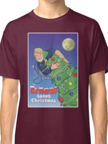 Ernest (Hemingway) Saves Christmas Classic T-Shirt