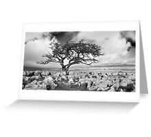 Twisleton Scar Greeting Card