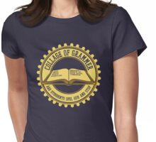 Collage of Grammer Womens Fitted T-Shirt