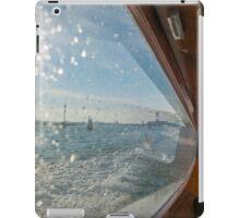 Taxi boat iPad Case/Skin