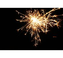 Sparks Photographic Print