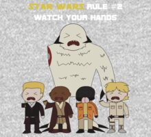 Star Wars Rule #2 (White Text) by Irvin Pagan