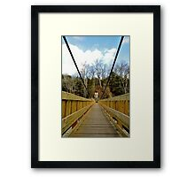 Spanning Nature. Framed Print