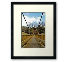 Spanning Nature. Framed Print