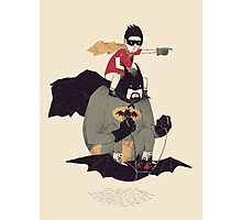 to the batmobile Photographic Print