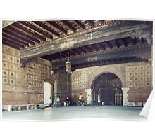 Palazzo del Capitano Civic Hall opposite Scaligeri Palace Verona Italy 19840419 0042  Poster