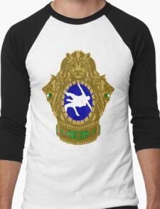 Indian Wrestling Men's Baseball ¾ T-Shirt