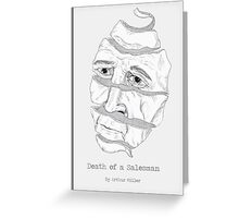 Death of a Salesman  Greeting Card