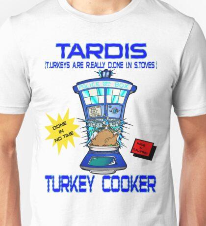 Tardis Turkey Cooker Unisex T-Shirt